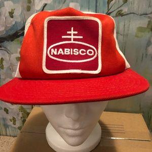 Other - Vintage Nabisco Mesh Trucker Hat *Rough*